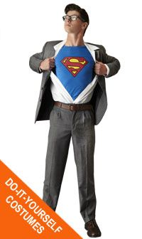 Daddys costume for maxs party halloween pinterest clark create this easy clark kent costume at goodwill solutioingenieria Gallery