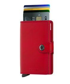 SECRID ® Mini Wallet ✶ Cartera & Tarjetero ✶ Rojo | ENVIO GRATIS