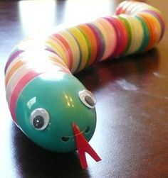 What a great way to recycle those plastic easter eggs!
