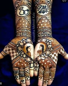 Bridal mehndi designs for every kind of bride Pretty Henna Designs, Peacock Mehndi Designs, Latest Bridal Mehndi Designs, Full Hand Mehndi Designs, Henna Art Designs, Indian Mehndi Designs, Modern Mehndi Designs, Mehndi Design Photos, Wedding Mehndi Designs