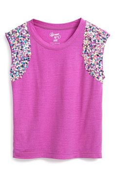 Flowers+by+Zoe+Sequined+Sleeveless+Top+(Little+Girls)+available+at+#Nordstrom