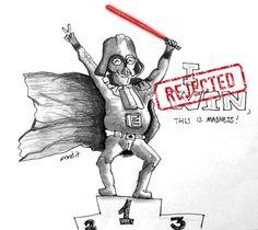 Dart Vader doesn't win
