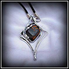 Moon stone pendant / SOLD /