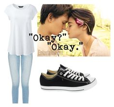 """""""Fault In Our Stars"""" by caseyanne18 on Polyvore featuring Lands' End and Converse"""