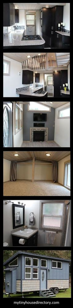 Tiny Houses of Washington has out done themselves on this Tiny Home!   The King's Loft is Stunning!    303 Total square footage  202 square...