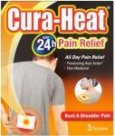 Cura-Heat Back & Shoulder Pain Pads (3) was 3.50 now 1.75 @ Sainsbury's