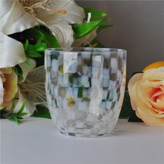 glass jar for candles