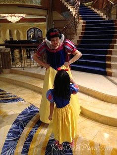 Reasons to Sail on the Disney Dream - character meets are probably parents and kids top things to do on a Disney Cruise ship Disney Cruise Line, Disney Dream Cruise Ship, Disney Love, Disney Parks, Disney Countdown, Disney Surprise, Disney Wishes, Snow White Disney, Disney Family