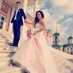 Wedding dress Fresia, collection Deluxe http://www.oksana-mukha.com/en/dress/deluxe-2015/Fresia