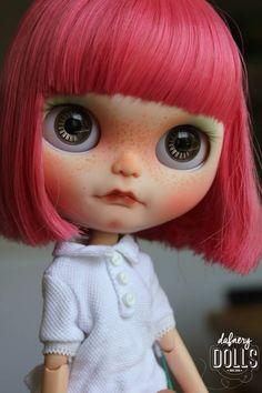 Blythe custom by Dafnery Dolls