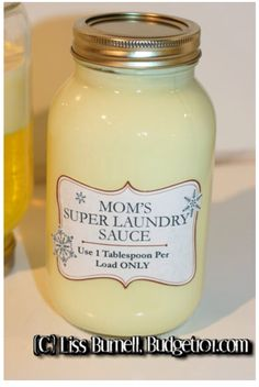 "This website is awesome! Tons of home made, chemical free, economical products for your household! I can't wait to try this home made laundry ""sauce"" 