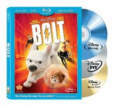 Bolt on DVD from Disney / Buena Vista. Directed by Byron Howard. Staring John Travolta, Miley Cyrus, Nick Swardson and Randy Savage. More Comedy, Family and Animals & Nature DVDs available @ DVD Empire. Walt Disney, Disney Films, Disney Cinema, Dvd Disney, Disney Family, Kid Movies, Family Movies, Great Movies, Movies To Watch