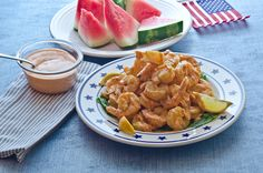 Boom Boom Shrimp Create some Fourth of July fireworks for your taste buds with this awesome shrimp and sauce combination. The light coating of House-Autry Seafood Breader will remind you of the great fried shrimp from Calabash, NC. Cajun Recipes, New Recipes, Boom Boom Shrimp, Fried Shrimp, Food Displays, Gumbo, Southern Recipes, Taste Buds, Fourth Of July