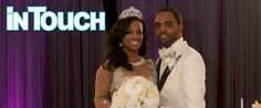 'Real Housewives' Star's Wedding Photos Are Here Check out our candles on the floor!!