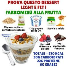 L'immagine può contenere: cibo Healthy Sweets, Healthy Cooking, Healthy Recipes, Vegan Desserts, Dessert Recipes, Light Cakes, Good Food, Yummy Food, Best Diets