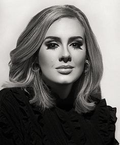 Beautiful picture - Adele - Do not know photographer's name. If you do let me know. hayward-simmons Adele 25, Adele Love, Adele Hair, Adele Music, Adele Makeup, Adele Adkins, Adele Style, Adele Grammys, Celebrity Headshots