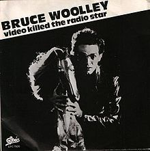 """Bruce Woolley behind a horse, with the text """"Bruce Woolley Video Killed the…"""