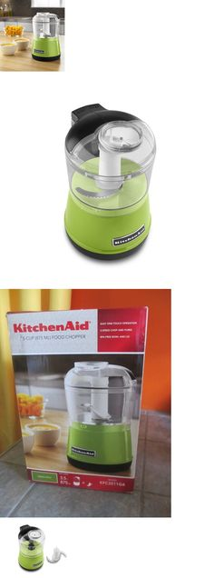 Choppers 178053: Kitchenaid 3.5-Cup Food Chopper - Green Apple - New In Box - Free Shipping -> BUY IT NOW ONLY: $48.55 on eBay!