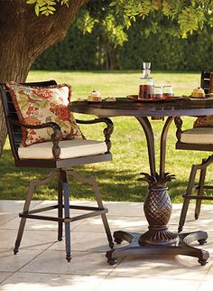 Create a unique and inviting area for outdoor entertaining.