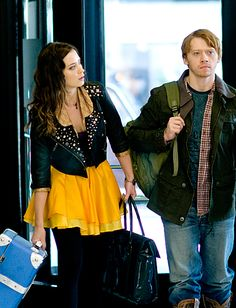 I'm working on making this skirt! ..Emily Blunt in 'Wild Target'