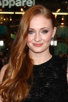 Sophie Turner aka Sansa Stark on GoT. On season 1 she was a pretty little girl...now she's a stunningly beautiful woman!