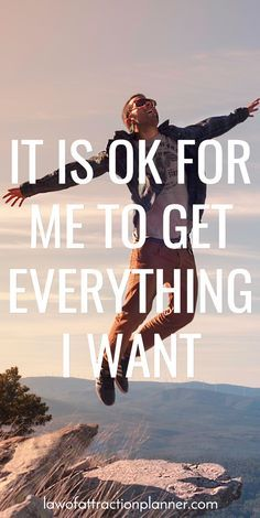 IT IS OK FOR ME TO GET EVERYTHING I WANT. Live a life of #passion, #gratitude, #love,...!