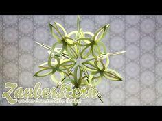 ▶ Anleitung - Zauberstern - eleganten Gitter von Stampin' Up! mit Rico - YouTube