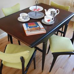 gplan butterfly table and chairs
