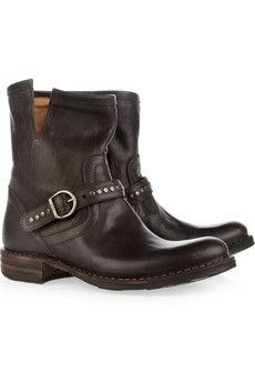 Fiorentini & Baker | Elis Eternity studded leather boots | NET-A-PORTER.COM $625.00