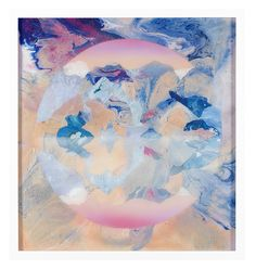 Kate Shaw, 1969, 65cm x 65cm, acrylic and resin on board, 2009