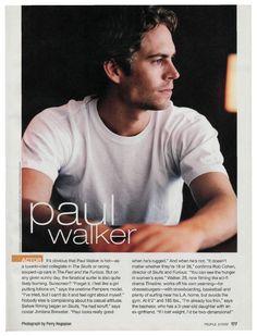 Paul Walker and His Daughter | Paul Walker: Actor - Most Beautiful, Paul Walker : People.com