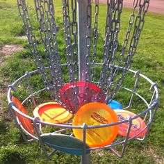 Frisbee golf is such a fun summer activity! @jpkarhu posted this picture to Twitter on May 29, 2012.