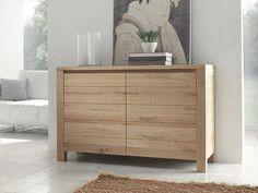 Alacena de madera maciza con puertas BRIGITTE by Domus Arte