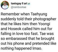 xD. Taehyung BTS