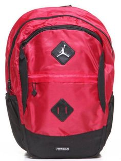 a267cdc826c1 Nike Air Jordan Backpack Gamer Black Red Bag Laptop Tablet Men Women Bag  Sleeve  Nike