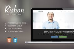 Rishon business bootstrap theme by bootstrapbrothers on @creativemarket