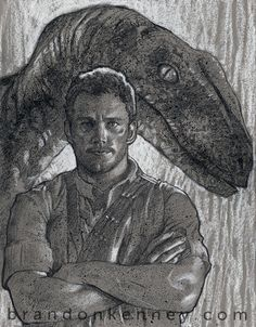 """Pencil and pastel on toned paper. 11"""" x 14"""" treated with a fixative. Signed and dated on the back. Watermark doesn't appear on the actual artwork."""