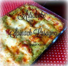 Artichoke and Spinach Lasagna
