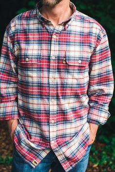 Glenfield Flannel Shirt - Lodge Plaid