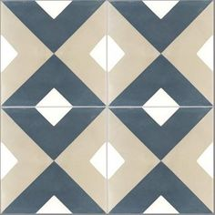 Cement tile floor and wall dark blue Marelle x cm - Floor Patterns, Tile Patterns, Textures Patterns, Turquoise Tile, Geometric Tiles, House Tiles, Tiles Texture, Motif Design, Stone Flooring