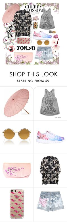 """""""Untitled #126"""" by pandainpink ❤ liked on Polyvore featuring Cultural Intrigue, Linda Farrow, NIKE, Miss Selfridge, Casetify and Rialto Jean Project"""