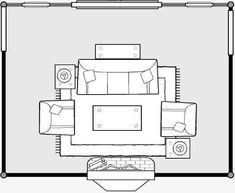 living room furniture floor plan - Google Search