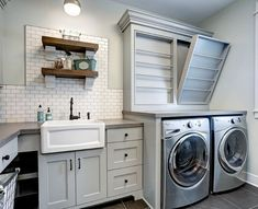 Inspiring Laundry Room Layout 53