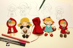 Chapeuzinho vermelho (WIP) by Ei menina! - Érica Catarina, via Flickr