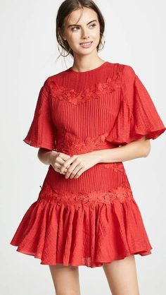 369df0efe1e1 Yigal Azrouel Colorblock Wrap Dress  fashiontrends