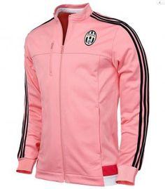 15-16 Season Juventus Pink Anthem Jacket [E636]