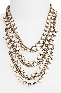 Topshop Multistrand Necklace available at #Nordstrom