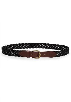 A.P.C./ Braided Leather Belt