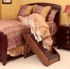 Solvit Extra Large Wood Dog Steps