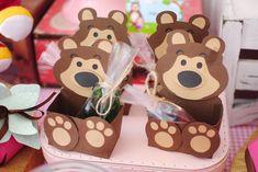 Masha And The Bear, Bear Party, Ideas Para Fiestas, Birthday Decorations, Gingerbread Cookies, Birthdays, Desserts, Baby, Food